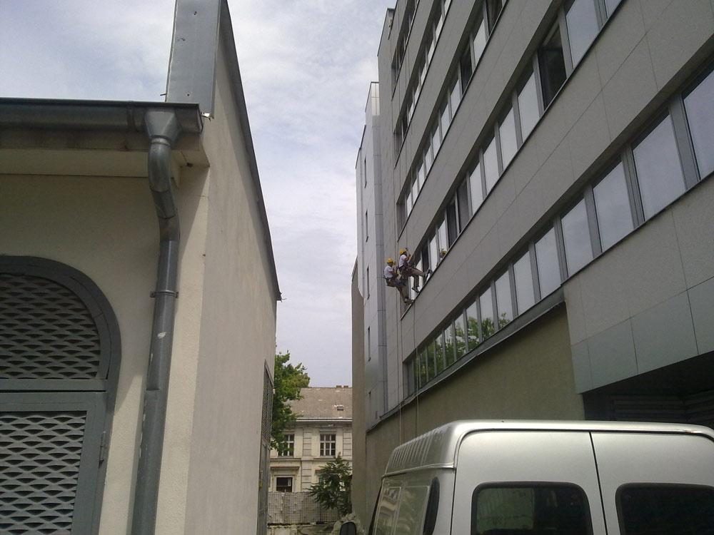 úprava fasády
