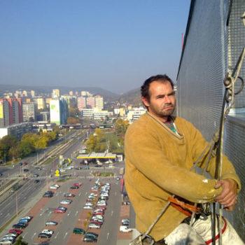 Oprava fasád vo výškach
