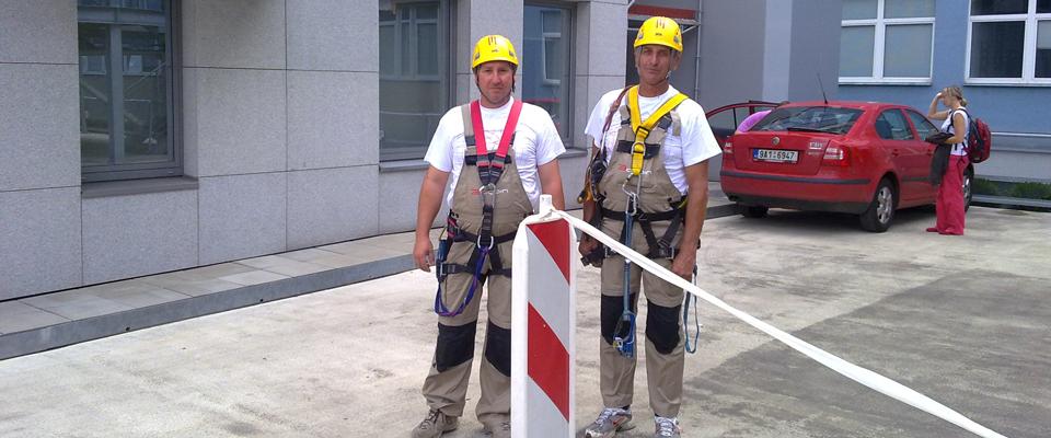 Výškové práce v Bratislave