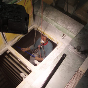 výškové práce v uzatvorených a ťažkodýchateľných priestoroch